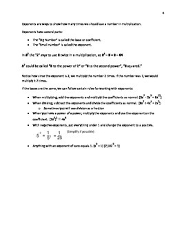 Ultimate Math Tutor 2 (15 pages)