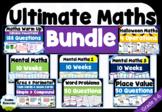 Ultimate Maths Bundle | Grade 3-6 | 23 Resources! | NO PRE