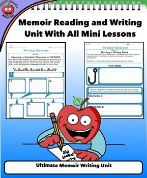 Ultimate Memoir Writing Unit (Without Teacher's PowerPoint)All Minilessons