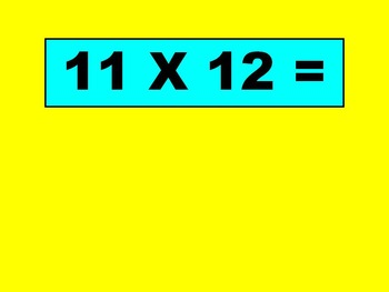 Ultimate Multiplication Facts Flash Cards