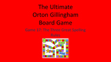 Ultimate Orton Gillingham Board Game r controlled, suffixes, irregular spellings