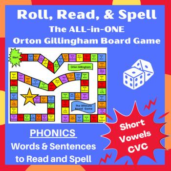 Closed syllables/ Short Vowels Orton word cards, sentences & games- lesson plans