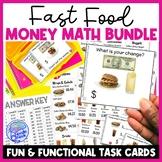 Ultimate PRINTABLE AND DIGITAL Fast Food Menu Math BUNDLE