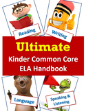 Ultimate Package - CCSS ELA Standards & Guiding Questions Handbook- Kindergarten