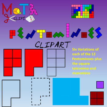 Ultimate Pentominoes Clipart