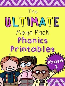 Ultimate Phase 2 Phonics Pack Freebie