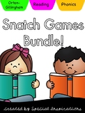 Ultimate Phonics Snatch Games Bundle! (Orton-Gillingham)