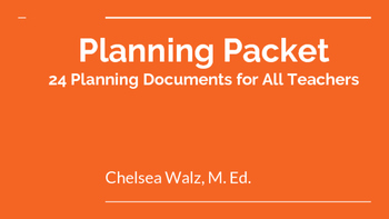Ultimate Planning Packet