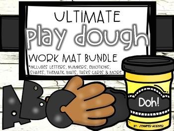 Ultimate Play Dough Work Mat Bundle