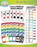 Ultimate Playing Cards Clipart {Zip-A-Dee-Doo-Dah Designs}