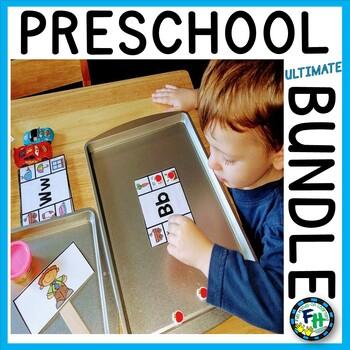 Ultimate Preschool Activity BUNDLE (GROWING)