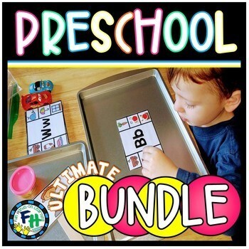 Ultimate Preschool Activity BUNDLE {GROWING}