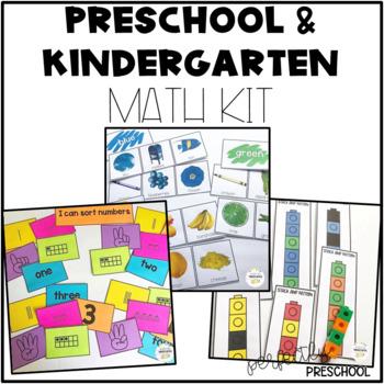 Ultimate Preschool and Kindergarten Math Kit