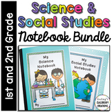 Science Notebook & Social Studies Notebook BUNDLE ~ 1st / 2nd Grade!! No Prep!