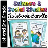 Science Notebook & Social Studies Notebook BUNDLE ~ 1st /
