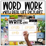 BR, CR, DR, FR, GR, PR, TR Word Work Centers