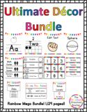 Ultimate Rainbow Decor & Binder Bundle