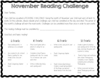 Ultimate Reading Challenge - November Edition