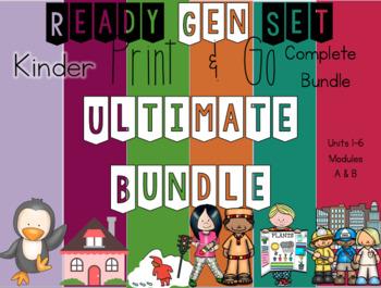 Ultimate Ready Gen Set Print & Go Bundle Kinder