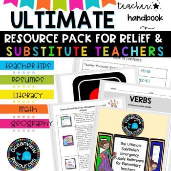 Ultimate Substitute Teachers Survival Kit #