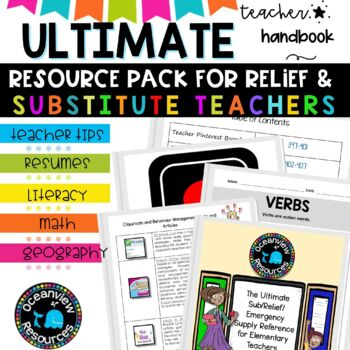 Ultimate Substitute/Relief Teacher Survival Kit