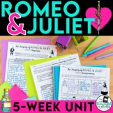 Romeo and Juliet Teaching Unit Bundle
