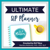 Ultimate SLP Planner {Editable}