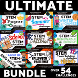 STEM Mega Bundle Challenges and Activities All Year