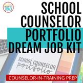 Ultimate School Counseling Portfolio | Digital Customize