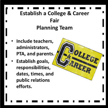 Ultimate School Counselor's Guide for a College and Career EXPO