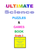 Ultimate Science Puzzles and Games Book Grade 3