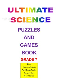 Ultimate Science Puzzles and Games Book Grade 7