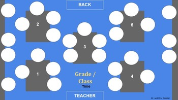 Ultimate Seating Charts - 14 Editable Arrangements For Classrooms, Labs, Etc.
