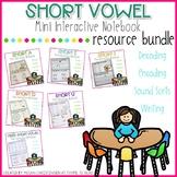 Ultimate Short Vowel Interactive Notebook BUNDLE