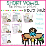 Ultimate Short Vowel Interactive Notebook BUNDLE