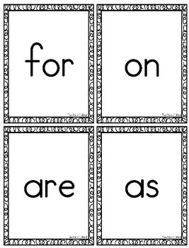 Ultimate Sight Word Pack {The First 100 Words}