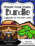 Ultimate Social Studies Lapbook Bundle
