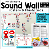 Ultimate Sound Wall Posters & Flashcards- Phonics, Blends & Word Families