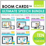 Ultimate Speech Bundle BOOM CARDS™ | Digital Task Cards |