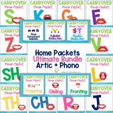 Ultimate Speech Sound Home Packet Bundle: Articulation & P