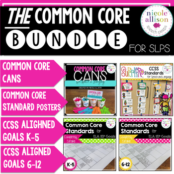 Ultimate Speech and Language Common Core Bundle