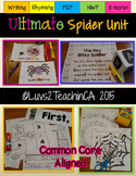 Spiders Unit for Kindergarten {Common Core Aligned}