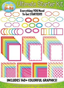 Ultimate Rainbow Starter Kit Mega Bundle {Zip-A-Dee-Doo-Dah Designs}