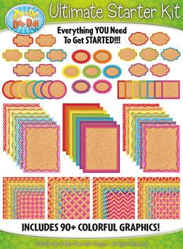 Ultimate Cork Starter Kit Mega Bundle {Zip-A-Dee-Doo-Dah Designs}