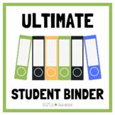 Ultimate Student Binder for Grades 3-6