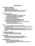 Ultimate Study Guide - California History