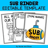 Substitute Binder - Editable Templates