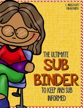 Sub Binder - Red and Yellow