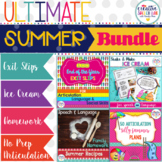 Ultimate Summer Speech and Language Bundle