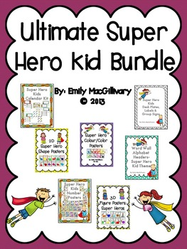 Ultimate Super Hero Bundle: All 7 Super Hero Sets